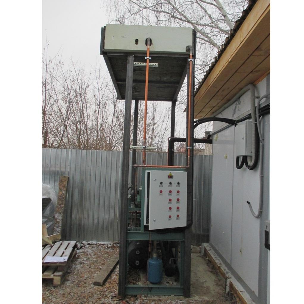 Компрессорно конденсаторный агрегат ШОКовой заморозки