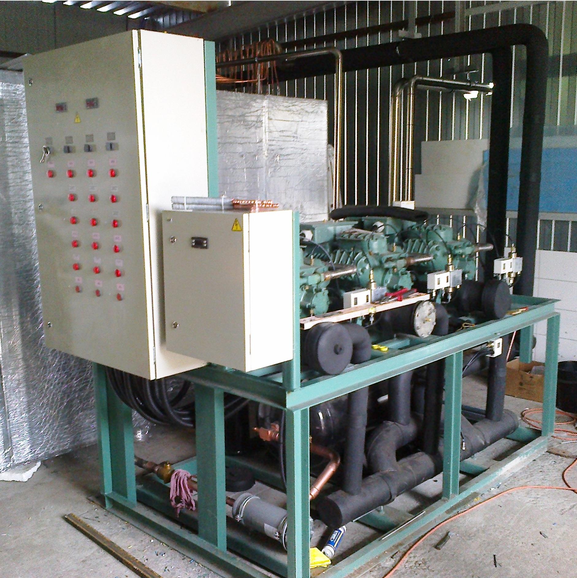 Агрегат Bitzer - централь для установки получения ледяной воды